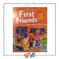 کتاب آموزش زبان کودکان First Friends 3 - American