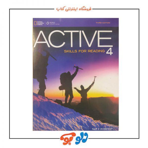 کتاب ACTIVE Skills for Reading 4 ویرایش سوم
